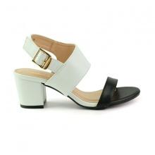 Sandal đế vuông êm chân Sunday DV45 màu trắng