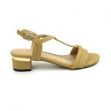 Sandal đế vuông êm chân Sunday DV40 màu nâu