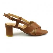 Sandal đế vuông Sunday DV34 màu nâu