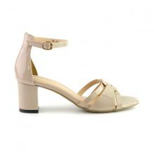Sandal đế vuông êm chân Sunday DV35 màu kem
