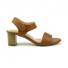Giày cao gót Sunday DV43 màu nâu