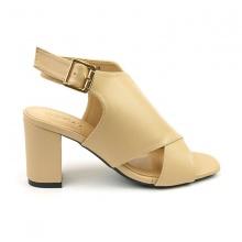 Giày cao gót Sunday DV41 màu kem