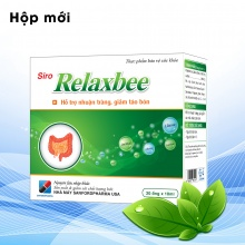 Relaxbee - nhuận tràng, giảm táo bón với chất xơ an toàn