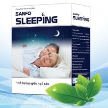 Sanfo Sleeping - thảo dược giúp ngủ ngon, tạo giấc ngủ sinh lý