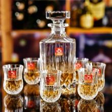 Bộ bình và 6 ly rượu mạnh Pha lê RCR Opera 60ml (sản xuất tại Ý)