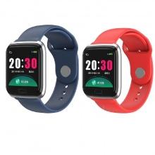 (Combo - thiết bị đeo thông minh) 2 vòng đeo tay thông minh JVJ CY05 (xanh, đỏ)