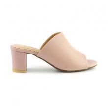 Guốc da thời trang êm chân Sunday GG04 màu hồng