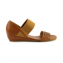Giày đế xuồng êm chân Sunday DX22 màu nâu