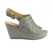 Giày đế xuồng êm chân Sunday DX15 màu xám