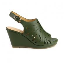 Giày đế xuồng êm chân Sunday DX15 màu xanh rêu