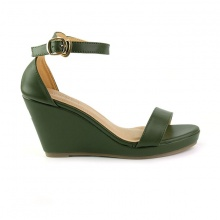 Giày đế xuồng êm chân Sunday DX08 màu xanh rêu