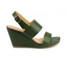 Giày đế xuồng êm chân Sunday DX10 màu xanh rêu