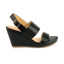 Giày đế xuồng êm chân Sunday DX10 màu đen