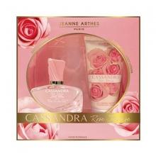 Bộ sản phẩm nước hoa nữ Jeanne Arthes Paris Cassandra Rose Intense EDP và sữa dưỡng thể 150ml
