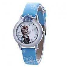 Đồng hồ đeo tay bé gái elsa ch002 màu xanh
