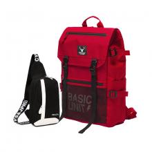Bộ balo unisex năng động và túi đeo chéo messenger cá tính Praza - BL175DC090D