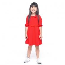 UKID223 - đầm bé gái (đỏ)