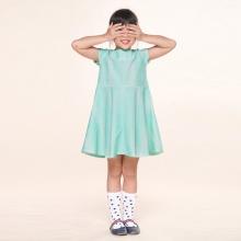 UKID227 - đầm bé gái (xanh ngọc)