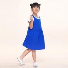 UKID228 - set đầm bé gái (xanh dương)