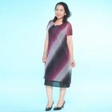 Đầm nữ trung niên form suông - UPAR39