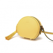 Túi trống tròn trơn S394 - Vàng cúc - Y04S394