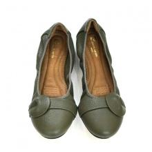 Giày búp bê đế bằng Pierre Cardin - PCWFWLB020GRE màu xanh