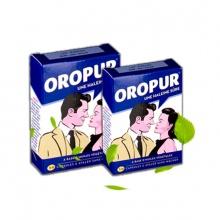 (Chính hãng từ Pháp) Combo 2 hộp viên uống chống hôi miệng Oropur 50 viên