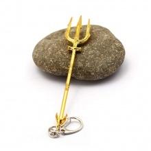 Móc khóa đồ chơi mô hình đinh ba Aquaman trident league of legends fish