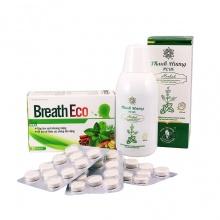 Combo Thanh Hương Plus & viên ngậm thảo dược Breath Eco - hỗ trợ điều trị hôi miệng từ bên trong cơ thể