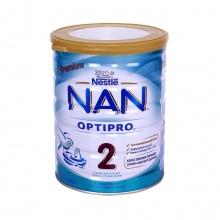 Sữa bột công thức Premium NAN Optipro Stages 2 cho bé từ 6 - 12 tháng tuổi (800g) - nhập khẩu Nga