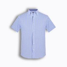 Áo sơ mi nam tay ngắn họa tiết The Shirts Studio Hàn Quốc TD42F2347BL