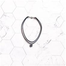 Vòng cổ choker hoa hồng đen - Tatiana - CD2609 (đen)