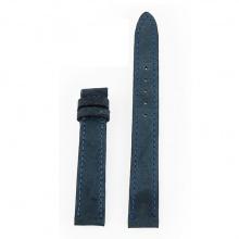 Dây đồng hồ nam nữ Huy Hoàng da đà điểu da bụng size nhỏ màu xanh đậm