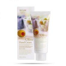 Kem dưỡng da tay Olive 3W Clinic Olive Hand Cream 100ml