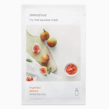Mặt nạ giấy từ trái sung Innisfree My Real Squeeze - Fig