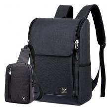 Combo balo nam Laza BL221 và túi đeo chéo TX361 - đen