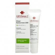 Kem chống nắng Cell Fusion C Clear Sunscreen 100 Hàn Quốc 10ml (dành cho da mụn)