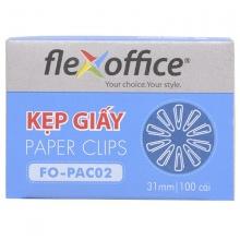 Kẹp giấy Flexoffice FO-PAC02