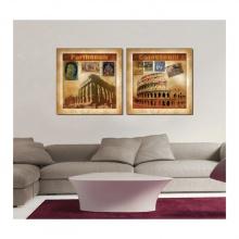 Tranh treo tường nội thất nhà đẹp Q22-OM-004-40V