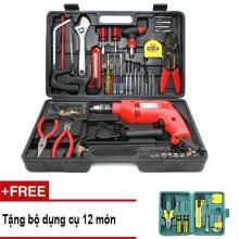 Bộ khoan cầm tay DIY 103 món MK90 - tặng bộ dụng cụ 12 món