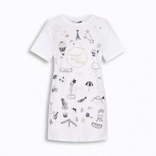 Áo phông nữ ngắn tay Hàn Quốc Orange Factory - FFK9L347-WSW
