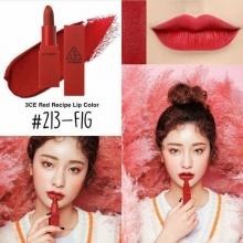 Son 3CE Red Recipe màu 213 Fig