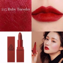 Son 3CE Red Recipe màu 215 Ruby Tuesday