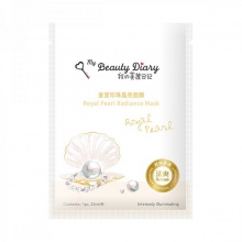 Miếng mặt nạ ngọc trai trắng hoàng gia My Beauty Diary Royal Pearl Radiance Mask