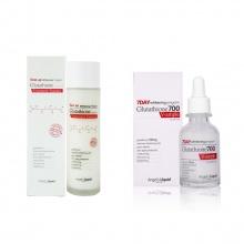Bộ toner & serum dưỡng trắng da 7DAY Whitening Program Glutathione 700V ( toner & serum )