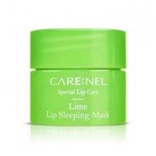 Mặt nạ ngủ môi - tẩy tế bào chết - căng bóng mềm mịn Care:Nel Lime lip sleeping mask 5g