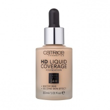 Kem nền Catrice HD Liquid Coverage Foudation Lasts Up To 24H - Tone 20 Rose Beige