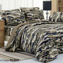 Bộ ga trải giường 180 x 200 x 25cm Tulip Print DL055