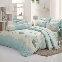 Bộ ga trải giường 160 x 200 x 25cm Tulip Print DLC045