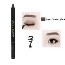 Chì kẻ mắt không trôi Shiny Long Hàn Quốc Màu G02(Golden Black)